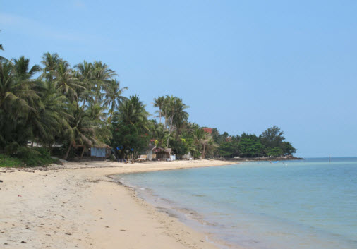 Bang Po Beach on Northern Koh Samui - Beach guide