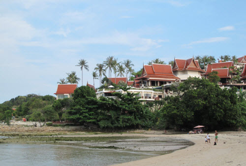 The Q Signature hotel on Choeng Mon Beach