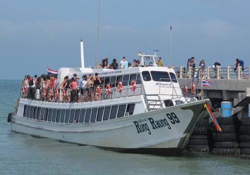 bateau koh phi phi krabi