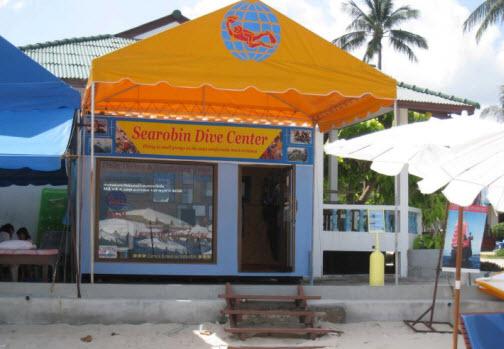 Searobin padi dive center on koh samui thailand dive guide - Koh tao dive center ...