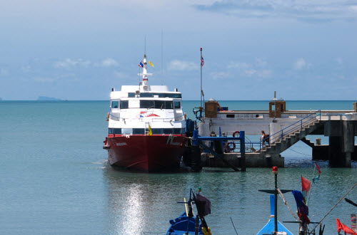Seatran discovery ferry on Koh Samui