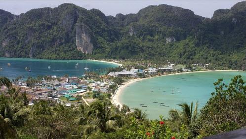 Koh Phi Phi Nightlife Koh Phi View Tong Sai Village