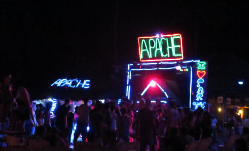 Apache bar on Ao Dalam Beach