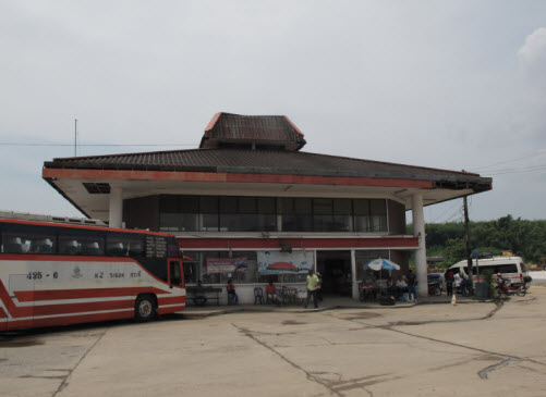 The Krabi Bus station