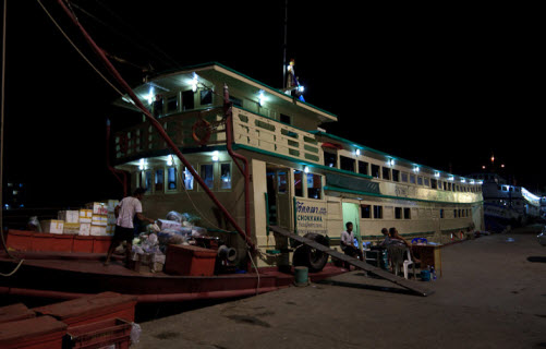 Night Ferry from Surat Thani to Koh Phangan