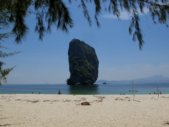 photo of the Koh Poda Island around Krabi
