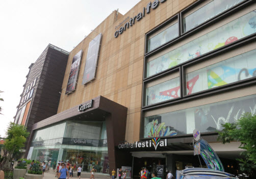 Cantral Festival Mall in Pattaya
