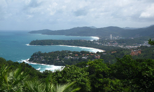 Kata and Karon Beach from the view point