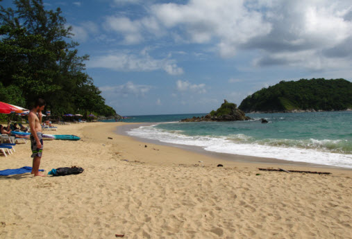 Nice secluded beach Southern Phuket