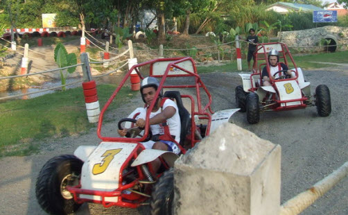 Riding Buggy at Kathu Phuket