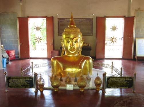 Wat Phra Thong Buddhist temple in Phuket Island