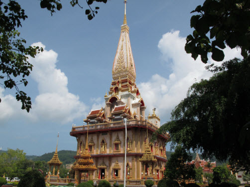 The Pagoda at Wat Chalong Phuket