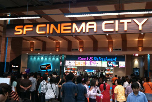 SF Cinema City in Trang - Enjoy your movie