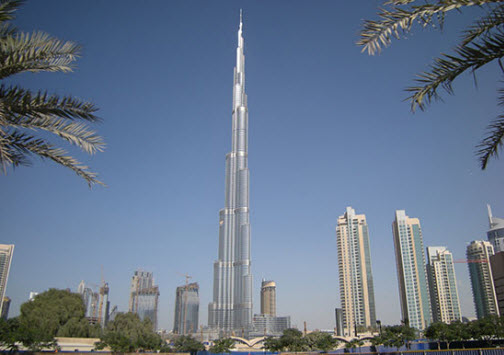 The Burj Kalifa, the tallest building in the world - Travel Info and Trip Advice - Free World Travel Guide