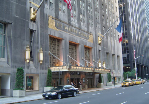 The Waldorf Astoria In New York City