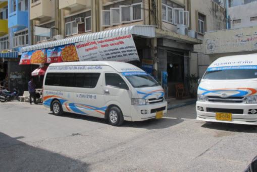 Minivan Busse Hua Hin Bangkok